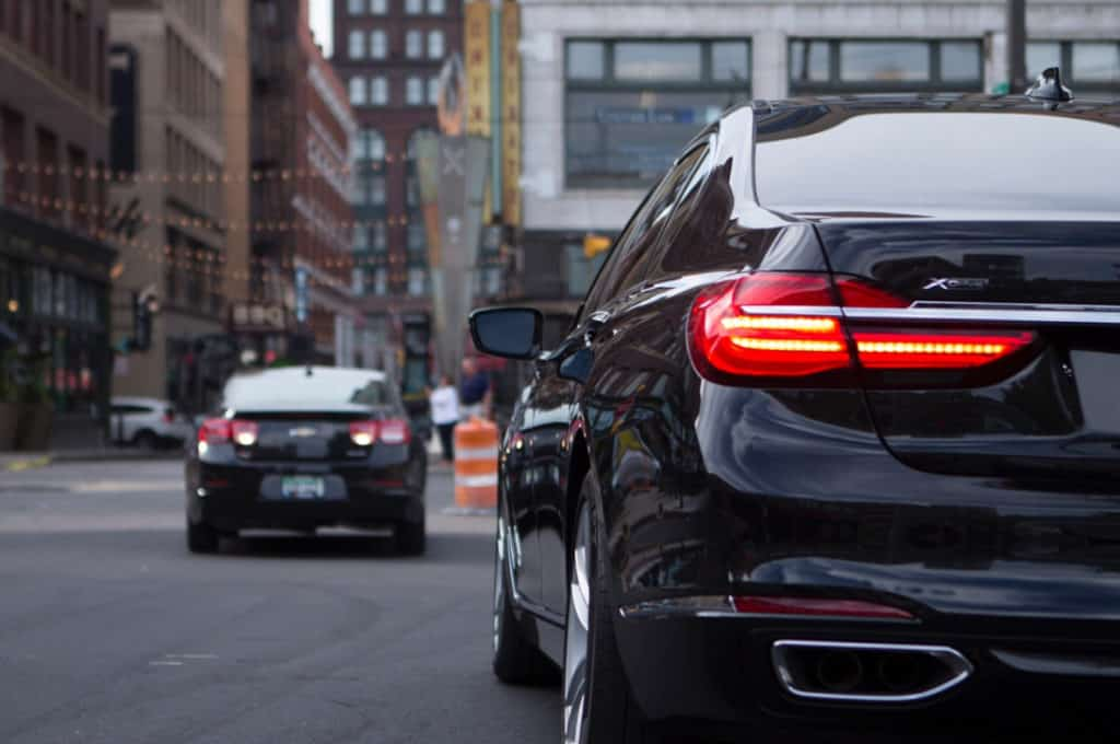 BMW 750i Downtown Cleveland
